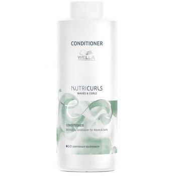 Balsam de Descurcare pentru Par Cret si Ondulat - Wella Professionals Nutricurls Detangling Conditioner for Waves and Curls, 1000ml