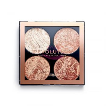 MAKEUP REVOLUTION HIGHLIGHTER AND BRONZER CHEEK KIT DONT HOLD BACK