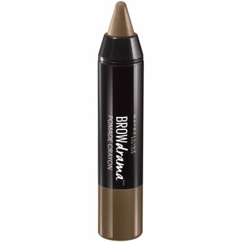 Creion pentru sprancene Maybelline New York BROW Drama Pomade Crayon Medium Brown