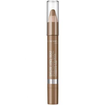 Creion pentru sprancene Rimmel London Brow This Way 001 Light 3.25 g