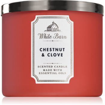 Bath & Body Works Chestnut & Clove lumânare parfumată