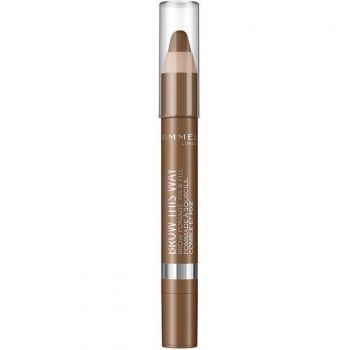 Creion pentru sprancene Rimmel London Brow This Way 002 Medium 3.25 g