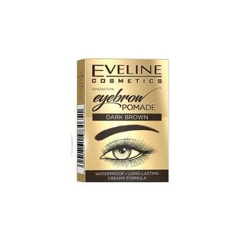 Crema pentru spracene, Eveline Cosmetics, Dark Brown, Waterproof, 20g