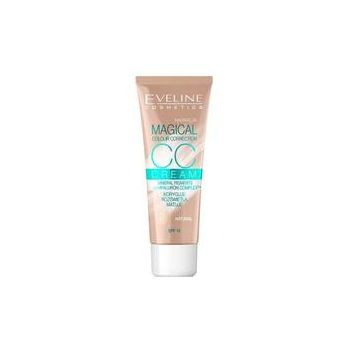 Crema coloranta, Eveline Cosmetics, CC Cream Magical Colour Correction, SPF 15, 51 Natural, 30 ml