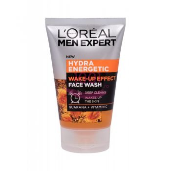 LOREA MEN EXPERT HYDRA ENERGETIC WAKE-UP EFFECT GUARANA + VITAMINA C GEL DE CURATRE