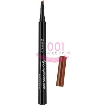 ESSENCE THE EYEBROW SEMI-PERMANENT CREION PENTRU SPRANCENE LIGHT BROWN 02