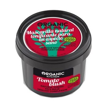 Masca de Tonifiere cu Lime si Tomate Organic Kitchen, 100 ml