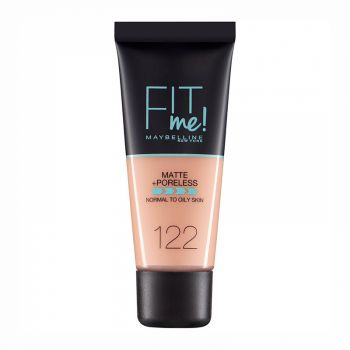 Fond de ten MAYBELLINE FIT ME Matte Poreless, 122 Creamy Beige, 30 ml