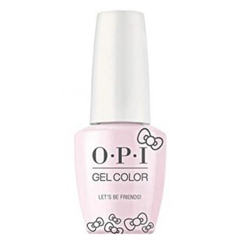 Lac de Unghii Semipermanent - OPI Gel Color HELLO KITTY Let's Be Friends!, 15 ml