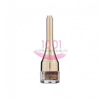 MUA LUXE POWERBROW LONG-WEAR SCULPTING GEL PENTRU SPRANCENE LIGHT BROWN