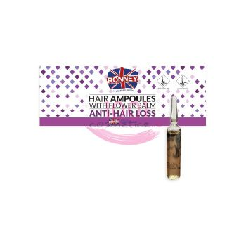 RONNEY HAIR AMPOULES ANTI HAIR LOSS FIOLE TRATAMENT PAR