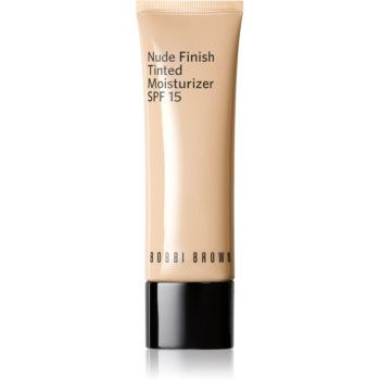 Bobbi Brown Nude Finish Tinted Moisturzier machiaj ușor de hidratare SPF 15