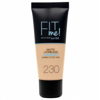 Fond de ten MAYBELLINE FIT ME Matte Poreless 230 Natural Buff, 30 ml