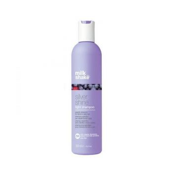 Sampon pentru păr gri și blond - Milk Shake Silver Shine Light Shampoo 300ml