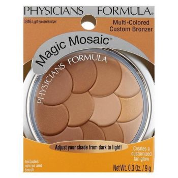 Fard de obraz Physicians Formula Magic Mosaic Multi-Colored Light Bronzer/Bronzer 9g