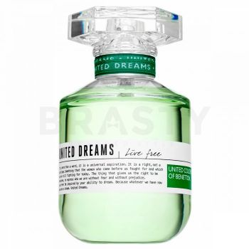 Benetton United Dreams Live Free Eau de Toilette femei 10 ml Eșantion