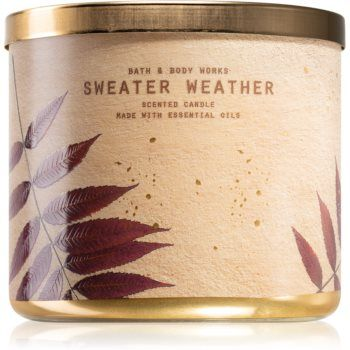 Bath & Body Works Sweater Weather lumânare parfumată