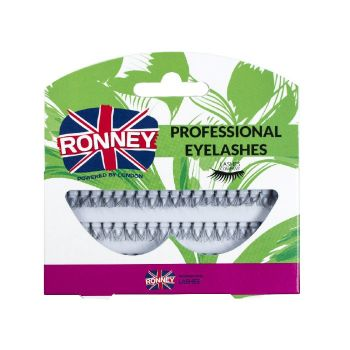 RONNEY PROFESSIONAL EYELASHES GENE FALSE FIR CU FIR DOUBLE FLARE MEDIUM