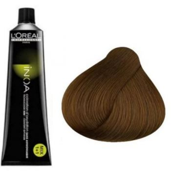 Vopsea de Par Permananenta fara Amoniac L'Oreal Professionnel Inoa 6.3 Dark Golden Blonde, 60 ml