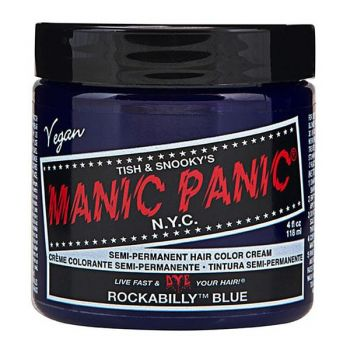 Vopsea Direct Semipermanenta - Manic Panic Classic, nuanta Rockabilly Blue 118 ml