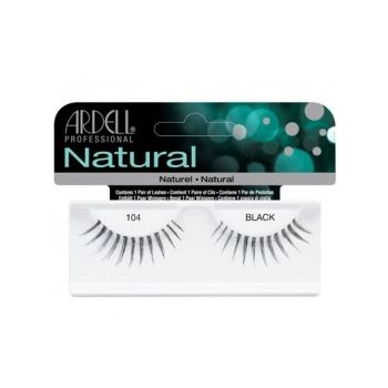 Gene False tip Banda - Ardell Natural Lashes 104 Black