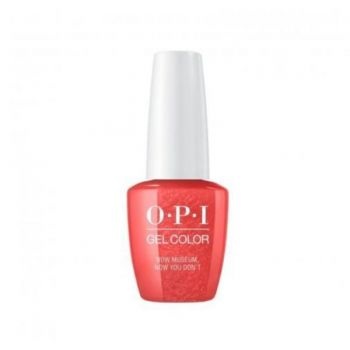 Lac de Unghii Semipermanent Opi Gel Color Now Museum, Now You Don`t 15ml