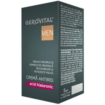 Crema Antirid - Gerovital H3 Men Anti-Wrinkle Cream, 30ml