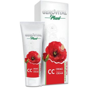Crema CC Mediu - Gerovital Plant CC Cream Medium, 50ml