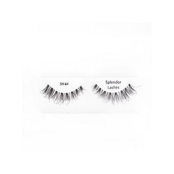 Gene false din par natural tip banda Splendor Lashes Sh 64 Renewed Wispies