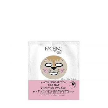 CAT NAP BRIGHTENING SHEET MASK-REVITALISING AND SKIN ENERGISING 25 Ml
