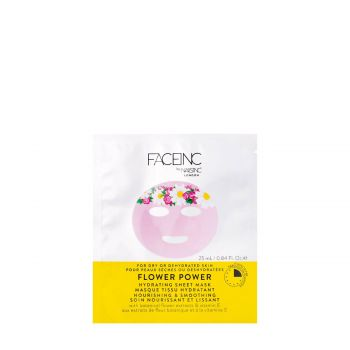 FLOWER POWER HYDRATING SHEET MASK-NOURISHING AND SMOOTHING 25 Ml