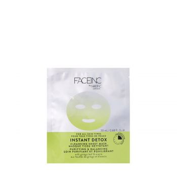 INSTANT DETOX CLEANSING SHEET MASK-PURIFYING AND BALANCING 20 Ml