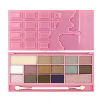 MAKEUP REVOLUTION LONDON I HEART MAKEUP CHOCOLATE PINK FIZZ PALETTE