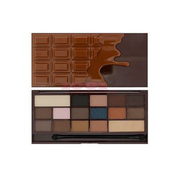 MAKEUP REVOLUTION LONDON I LOVE MAKEUP I HEART CHOCOLATE SALTED CARAMEL PALETTE