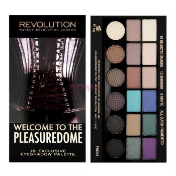 MAKEUP REVOLUTION LONDON SALVATION PALETTE WELCOME TO THE PLEASUREDOME