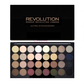MAKEUP REVOLUTION LONDON ULTRA EYESHADOWS 32 CULORI FLAWLESS PALETTE