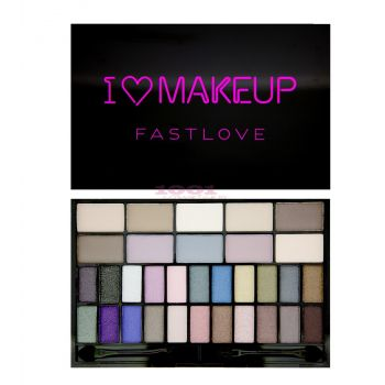 MAKEUP REVOLUTION LONDON I LOVE MAKEUP FASTLOVE PALETA FARDURI
