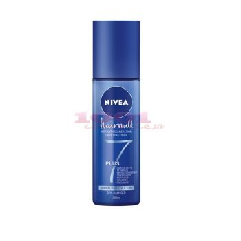 NIVEA HAIRMILK EXPRESS REGENERATION LEAVE-IN BALSAM SPRAY FARA CLATIRE PENTRU PAR NORMAL