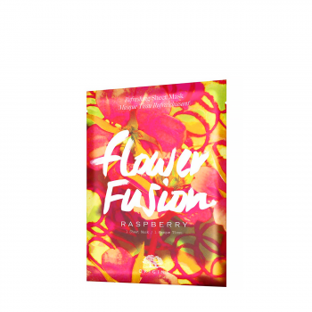 FLOWER FUSION RASPBERRY SHEET MASK 34gr