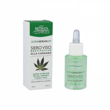 Ser antirid cu extract de Cannabis Ultra Retinol Complex 30 ml