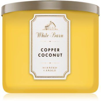Bath & Body Works Copper Coconut lumânare parfumată I.