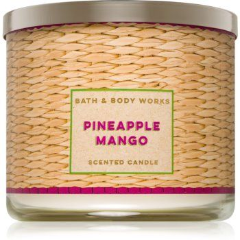 Bath & Body Works Pineapple Mango lumânare parfumată