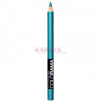 MAYBELLINE COLORAMA / SHOW CRAYON KHOL CREION DERMATOGRAF TURQUOISE FLASH 210