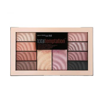 MAYBELLINE TOTAL TEMPTATION SHADOW + HIGHLIGHTER PALETA