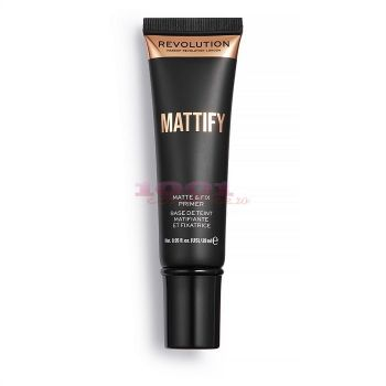 MAKEUP REVOLUTION MATTIFY MATTE & FIX BAZA DE MACHIAJ MATIFIANTA